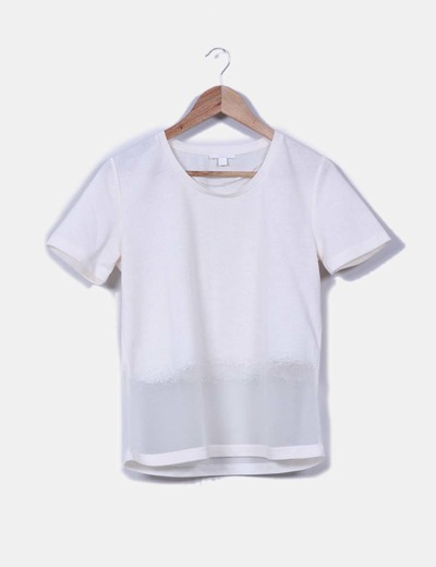 Camiseta nude combinada COS