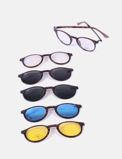 c8a2cedd08 Alain Afflelou Gafas marrones diferentes cristales (descuento 54 %) -  Micolet