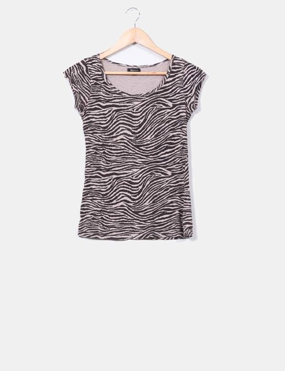 Top animal print Suiteblanco