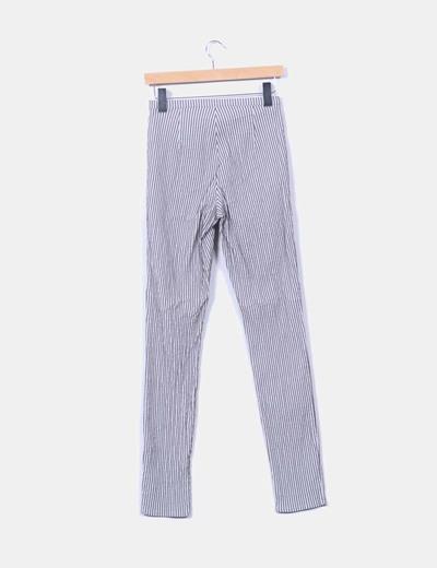 Pantalon pitillo rayas