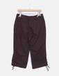 Pantalón culotte lino marrón Dreamstar