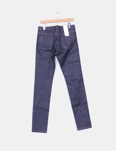 Jeans rectos tono oscuro