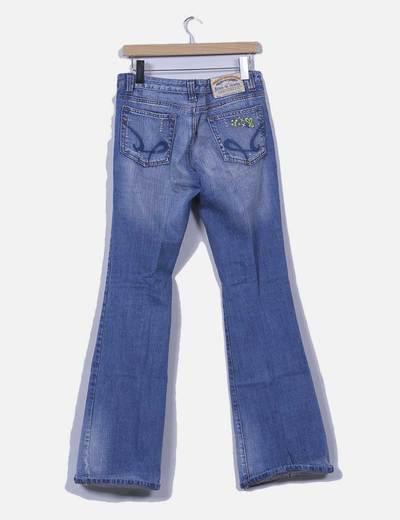 Jeans denim campana