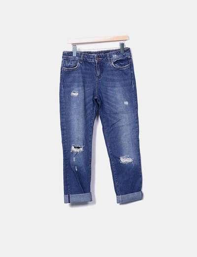 Jeans denim boyfriend Zara