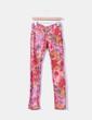 Jeans denim reversible rojo floral MET