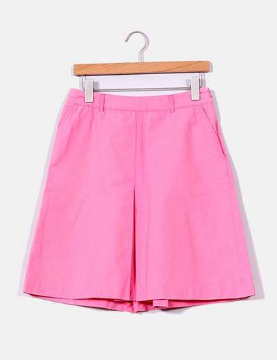 Falda rosa chicle Zara