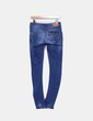 Jeans denim pitillo Bershka