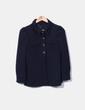 Blazer bleu marine boutonné Marc Jacobs