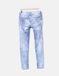 Jeans denim efecto desgastado Bershka