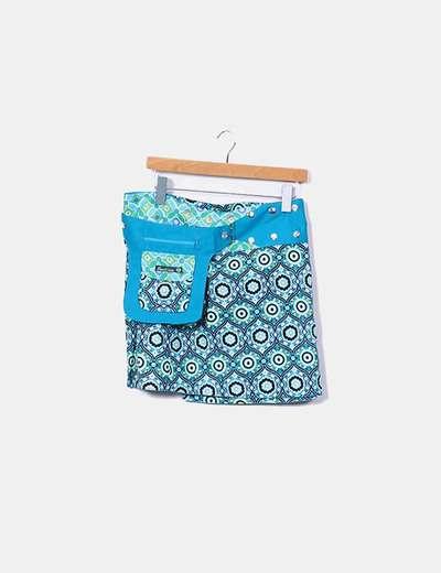 Mini-jupe imprimée NoName