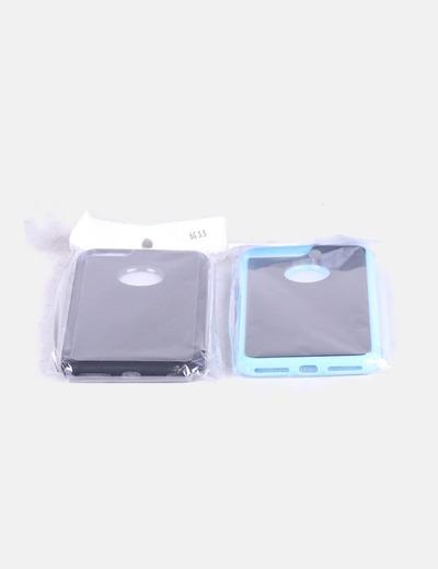 Pack fundas iPhone 6 y 7 Plus NoName