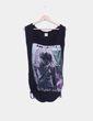 Camiseta negra print XDYE