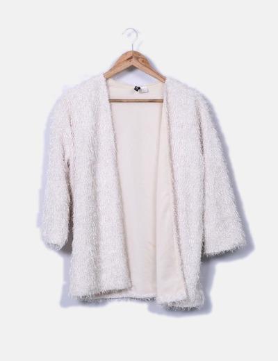 Cardigans blancs texturé H&M
