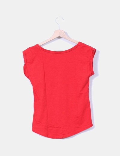 Camiseta basica roja