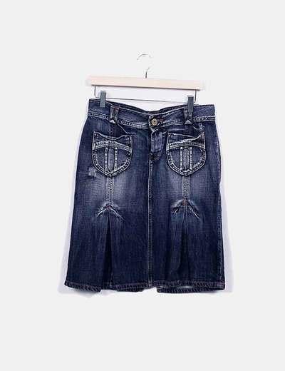 Saia midi Pepe Jeans