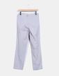 Pantalón recto gris Tintoretto