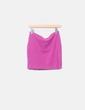 Falda tubo rosa H&M