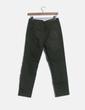 Jeans denim verde ripped Zara