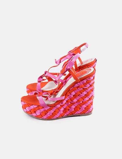 Sapatos de cunha Christian Dior