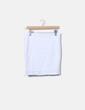 Conjunto top y minifalda blanca NoName