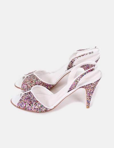 Sandalias glitter colores Magoblan