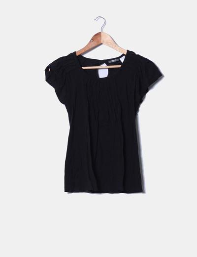 Camiseta negra de tablas La Redoute
