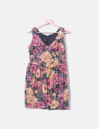 Vestido de tirantes estampado floral