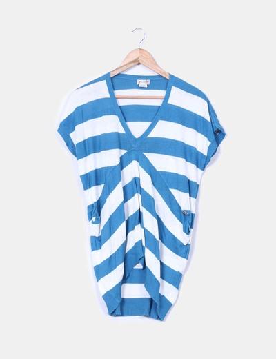 Jersey oversize de rayas azules y blancas Element