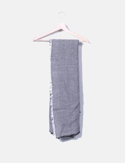 Écharpe multi-couleurs deux Zara