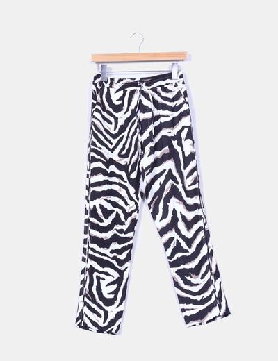 Pantalón baggy animal print G.Sil