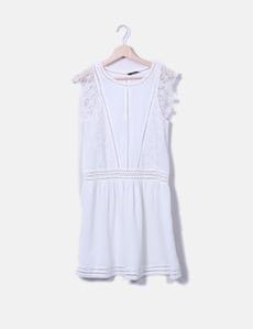 Mango Weißes Kleid mit Top (Rabatt 74 %) - Micolet 6038ce17db