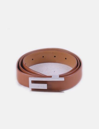 Gucci Cintura in similpelle con fibbia marrone (sconto 59%) - Micolet 1f5eaf4be4b