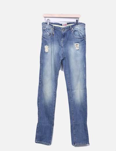 pantalon denim ripped Jeans Jota+ge