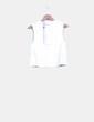 Camiseta blanca LA to Las Vegas MINKPINK