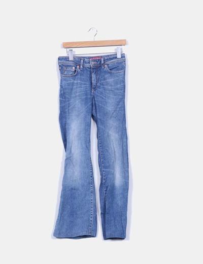 Pantalon cloche de cow-boy Denim Co.