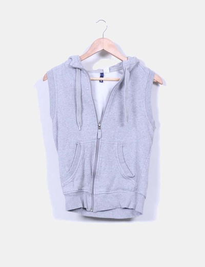 Chaleco deportivo gris H&M