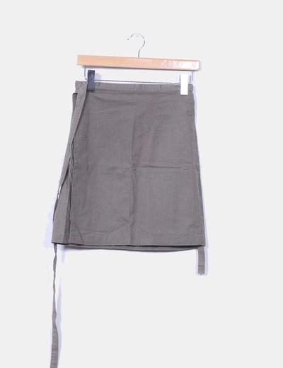 Falda de lino Muiggi