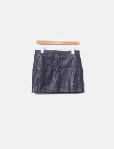 Black pilopiel skirt Zara