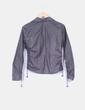 Camisa de rayas gris con bolsillos Pedro del Hierro
