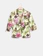 Blazer verde pistacho print floral Alicia Rueda