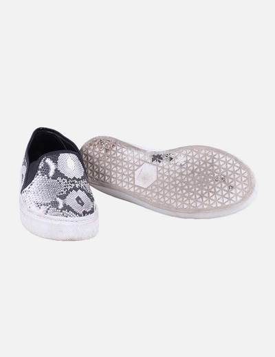 Sleepers animal print gris