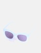 Gafas de sol cuadradas azul claro Uterqüe