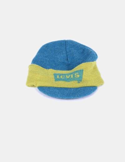 Gorro lana con visera bicolor Levi's