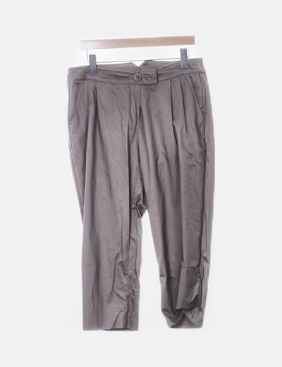 Pantalón chino bombacho beige