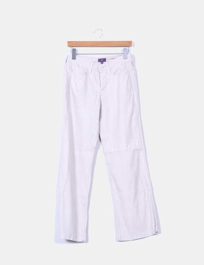Pantalón beige recto NYDJ
