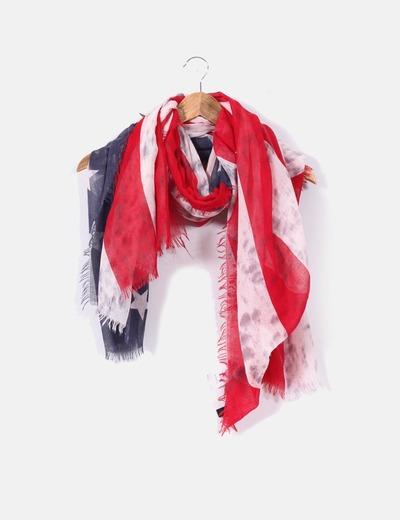 Pimkie Foulard drapeau usa (réduction 68%) - Micolet b900ac61069
