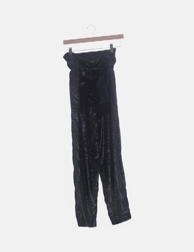 Pantalón terciopelo velvet glitter