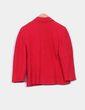 Chaqueta en lana roja con textura  NoName
