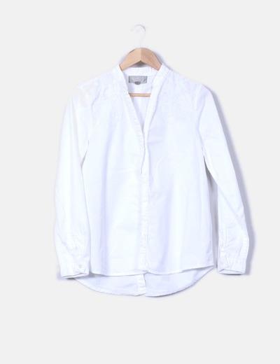 Camisa con bordados  Pedro del Hierro