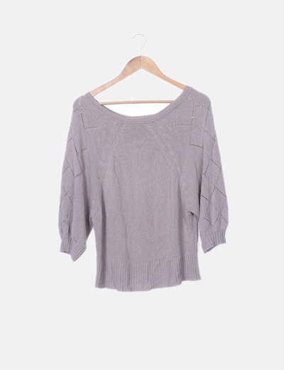 Jersey tricot taupe